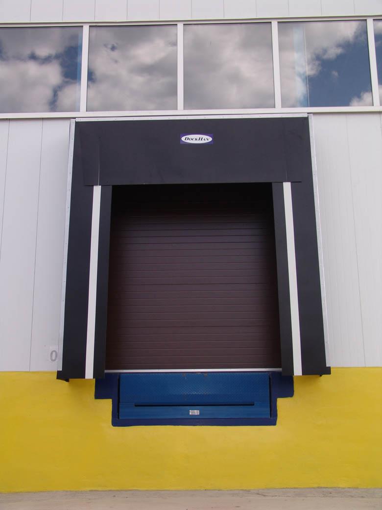 Dock shelter dạng màn
